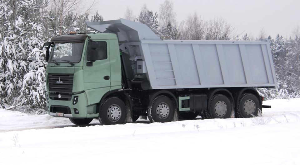 МАЗ-6516М9. Третий новичок