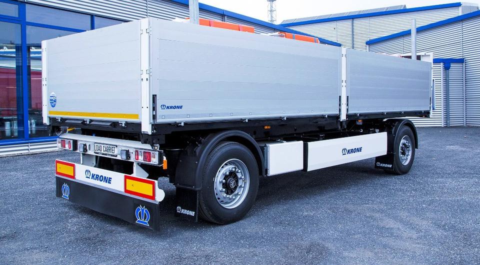 Krone Load Carrier. Специально для строительных материалов