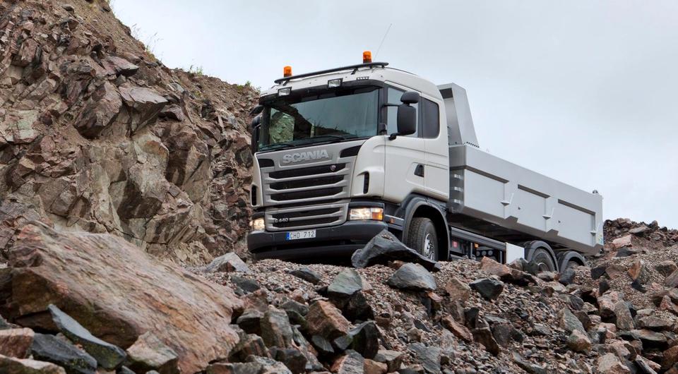 Scania Astator: робот отправился в карьер