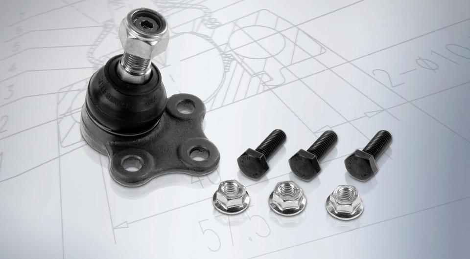 Шаровые опоры MEYLE-HD для фургонов Renault