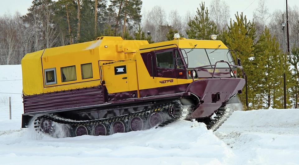 Вездеходы ЧЕТРА для «Славнефти»