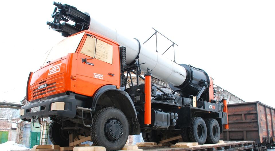 Омский МЗС-219 завинтит сваи в Якутии