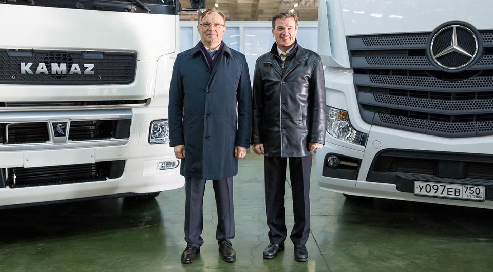КАМАЗ и DAIMLER строят совместный завод кабин