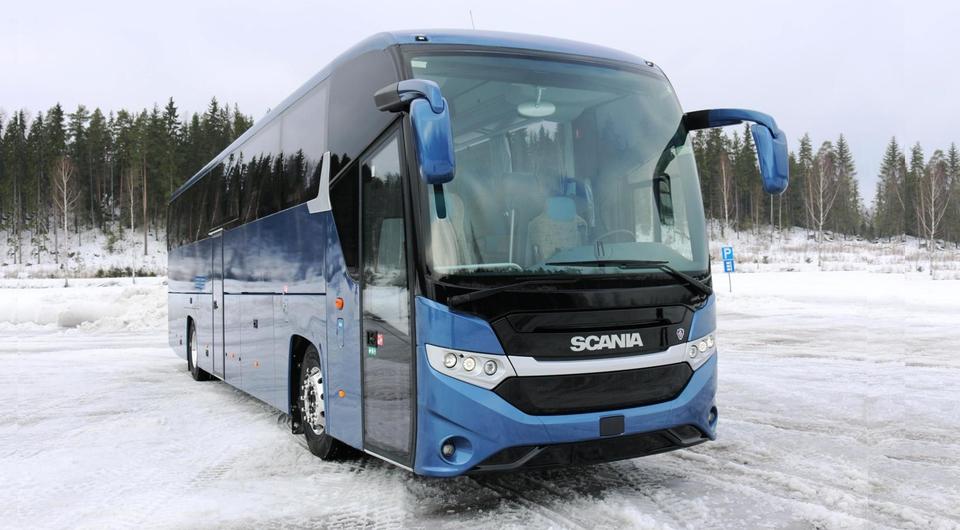 Новичок в большой семье автобусов Scania