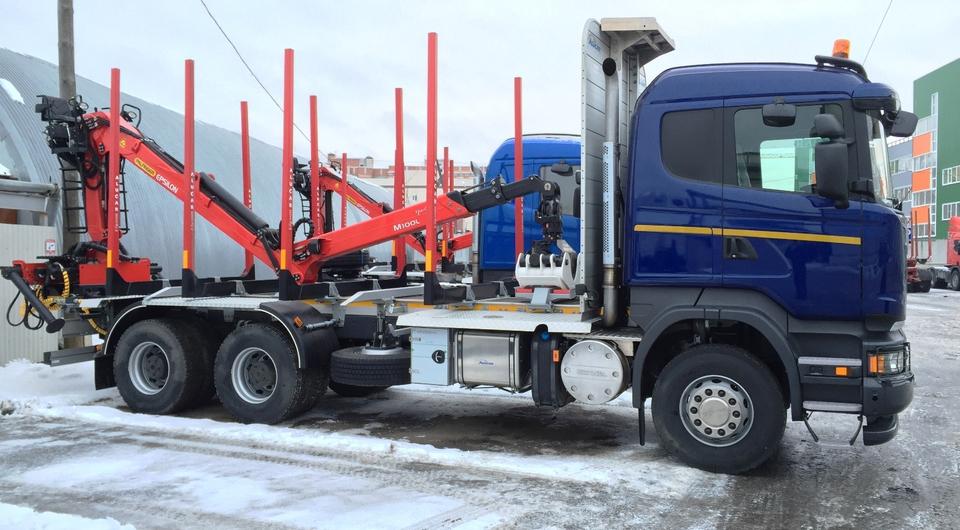Scania внедряет сортиментовозы Entry Model