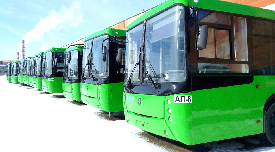 НЕФАЗ: газовые автобусы для Екатеринбурга и Ямбурга