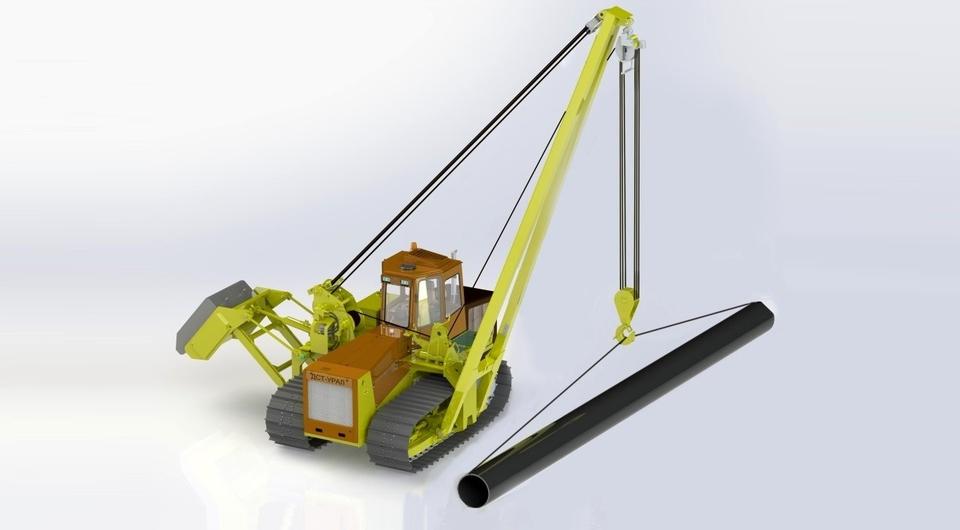 «ДСТ-Урал» разрабатывает тяжелый трубоукладчик