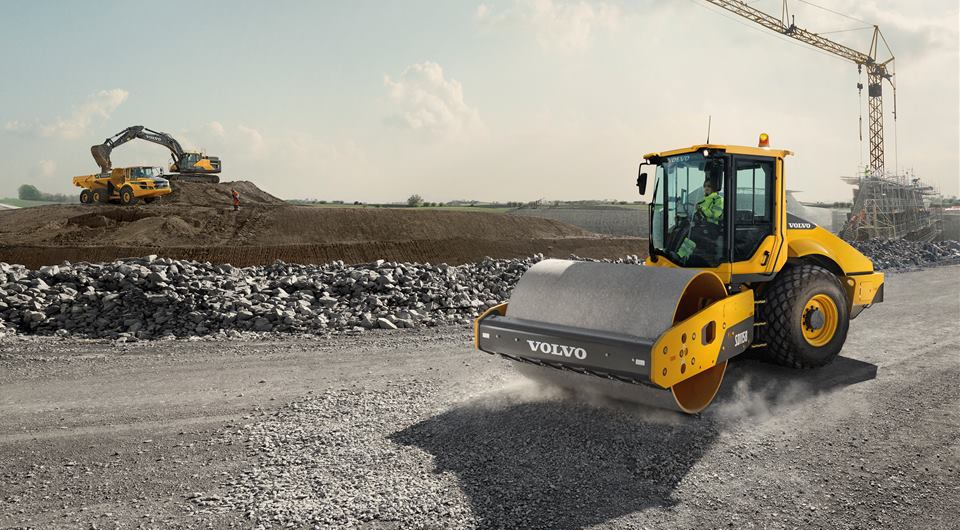 Volvo: новое поколение катков серии «B»