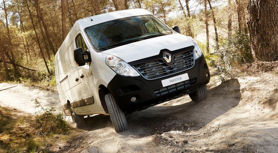 Renault Master. Версия с полным приводом