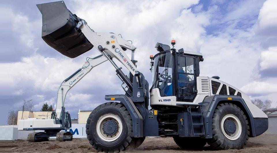 «РМ-Терекс»: новый погрузчик и новые экскаваторы