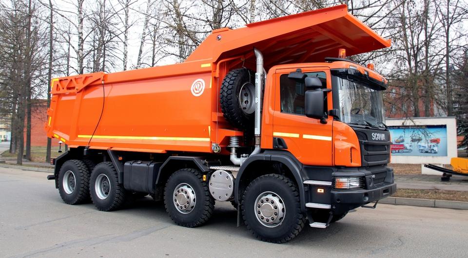 Scania берется за разработку карьеров