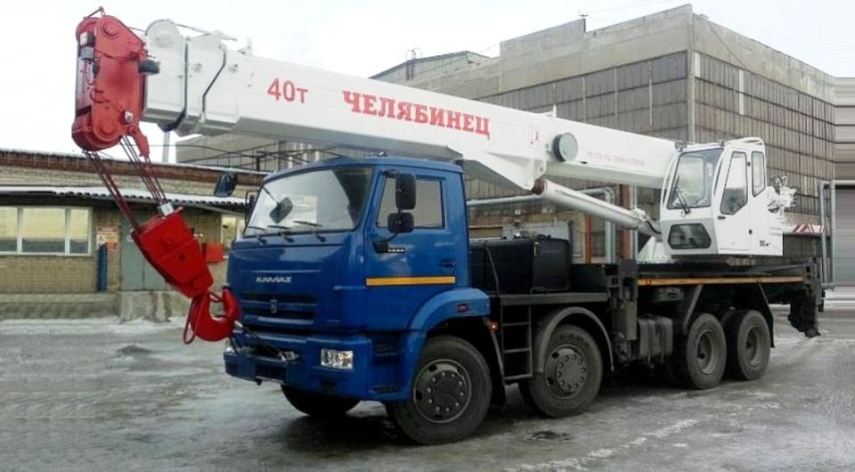 40-тонные «Челябинцы» с 34-метровой стрелой