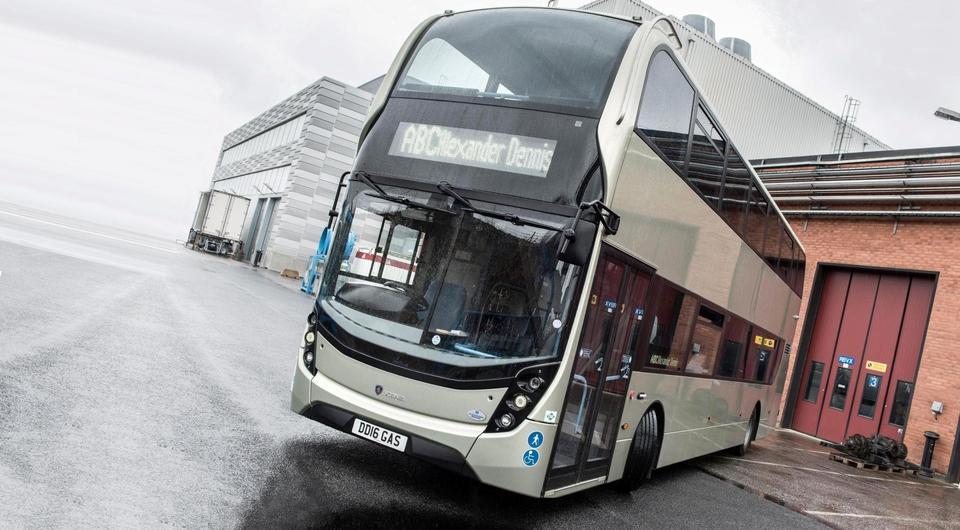 Scania: первый газовый двухпалубный автобус