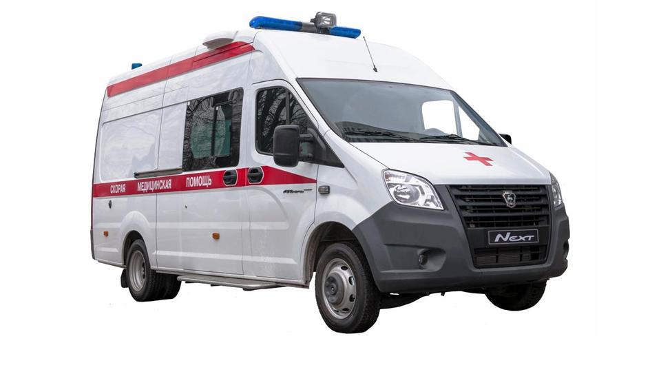 Красный крест на цельнометаллической «Газели NEXT»