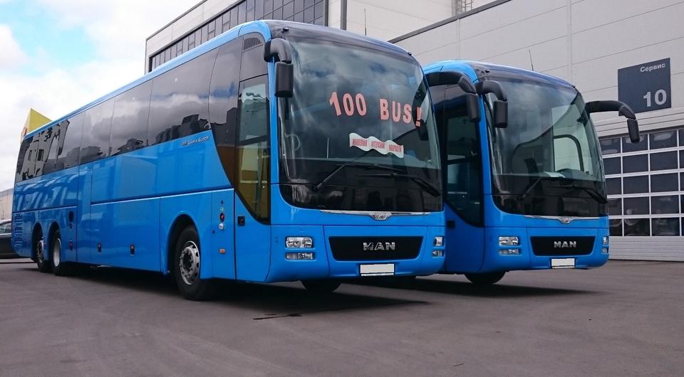 Из Пензы в Москву на автобусах MAN