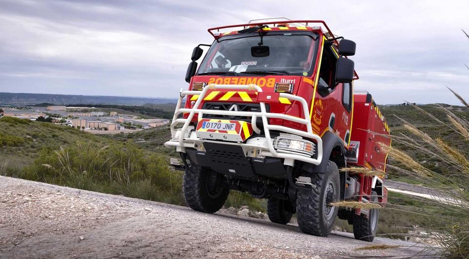Renault защитят Мадрид от огня
