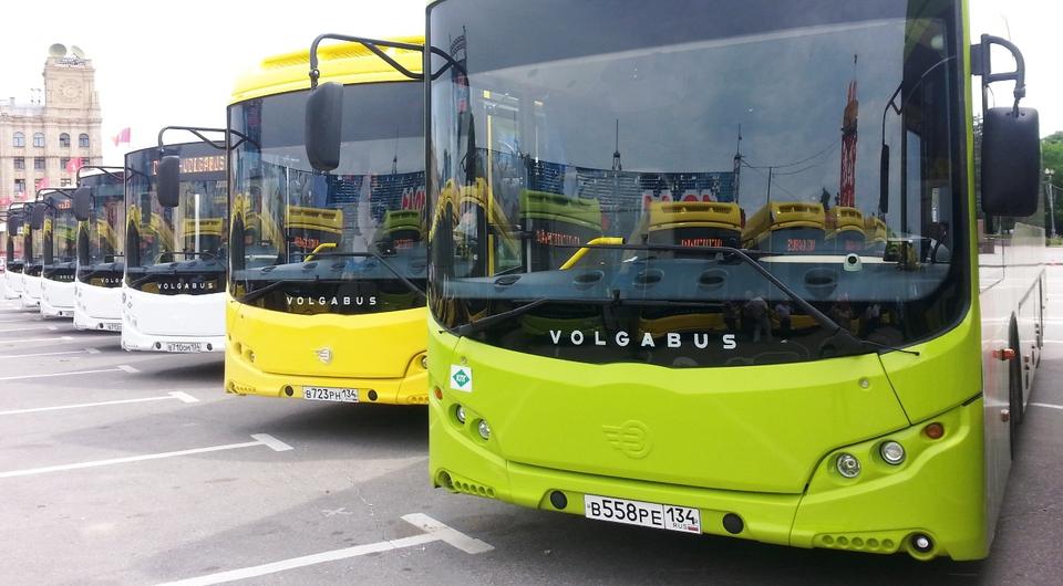 Volgabus: 72 автобуса для Волгоградской области