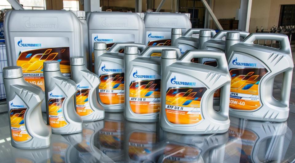 «Газпромнефть-СМ»: масла на экспорт