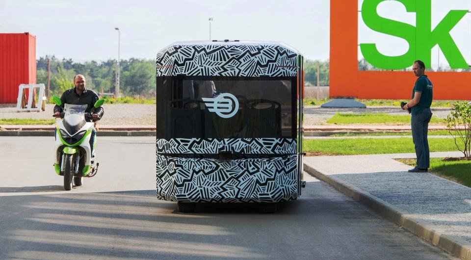 Volgabus: автобус-робот осваивается в Сколково