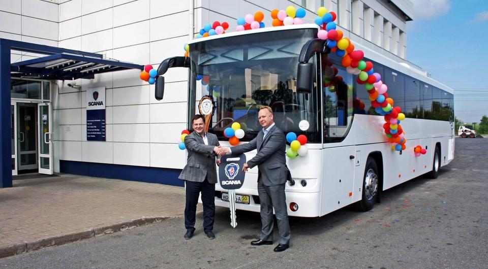 Первый «Вояж» через дилерскую сеть Scania