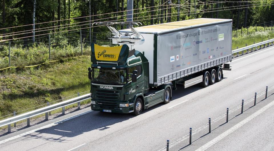 Scania: автомобили-электровозы вводятся в эксплуатацию