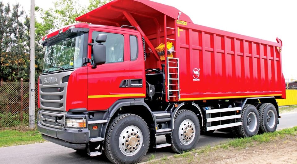 Десять углевозов Scania для компании «СУЭК»