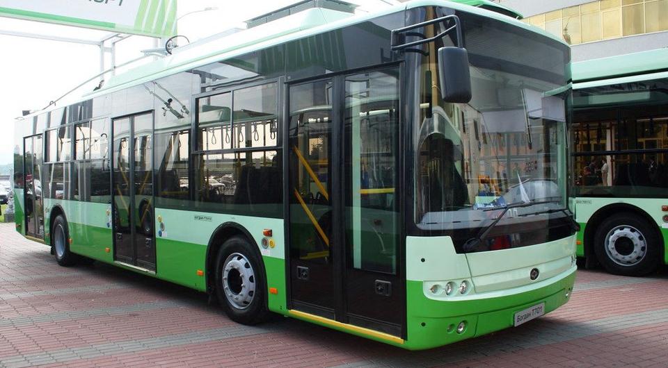 «Богдан» поставил троллейбусы в Одессу