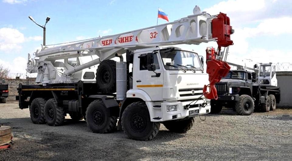 Четырехосный «Челябинец»: 32 тонны, 33 метра