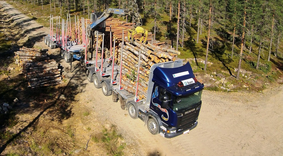Scania по-фински: маленький гигант
