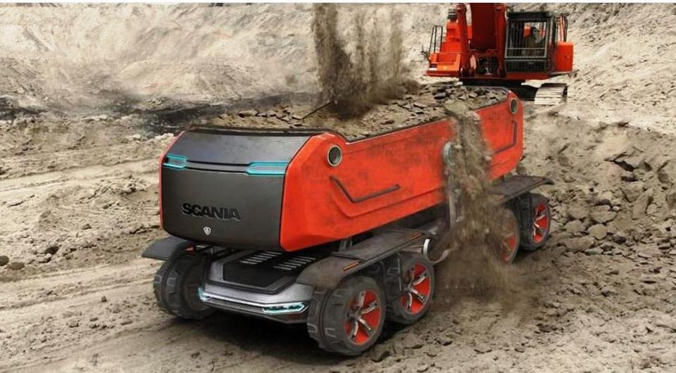 Роботы Scania: в прицеле – промышленный сектор