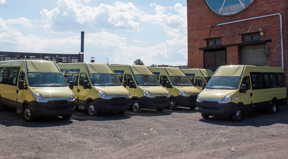 «Такси-2»: пополнение автобусами Iveco Daily