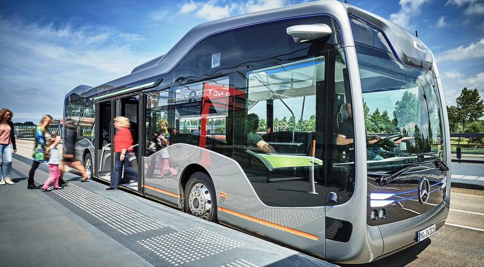 Автономный автобус: для Daimler это не сказки!
