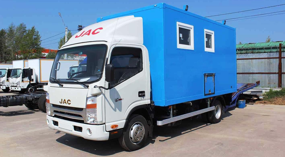 Автомеханический завод: JAC как автомастерская