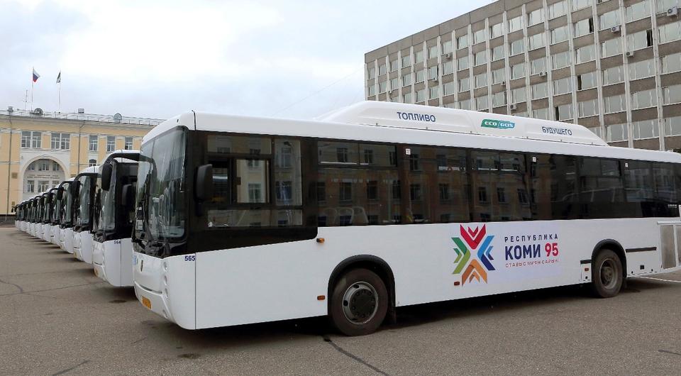НЕФАЗ: 40 газовых автобусов для Сыктывкара