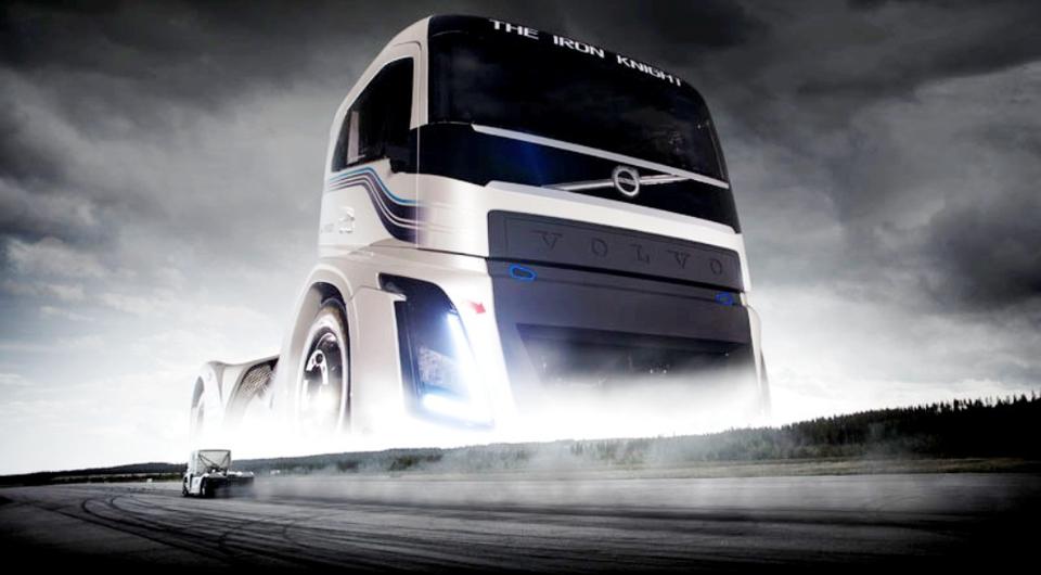 Volvo: «Железный рыцарь» ставит рекорды