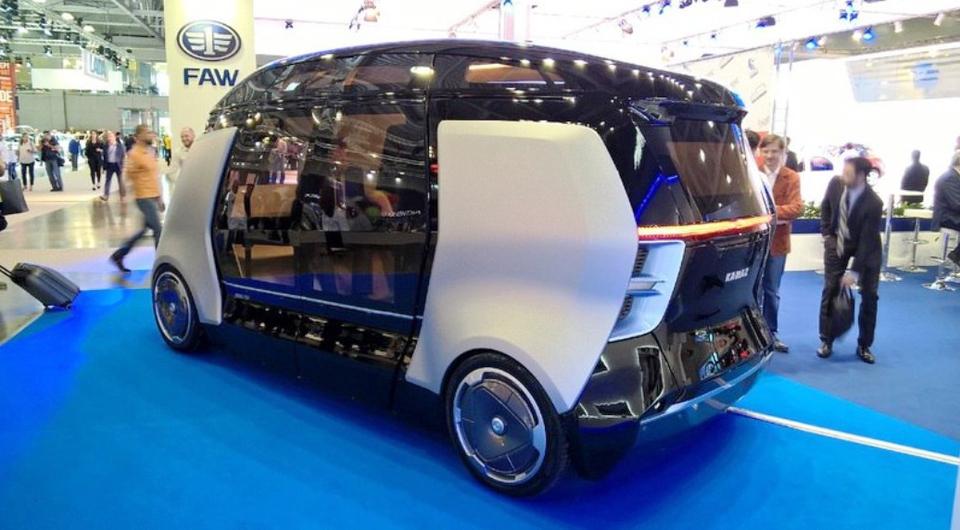 НАМИ + КАМАЗ: роботизация транспорта