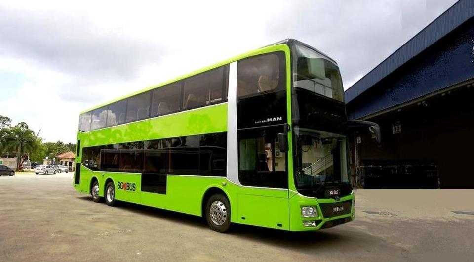 Алюминиевые автобусы MAN для Сингапура