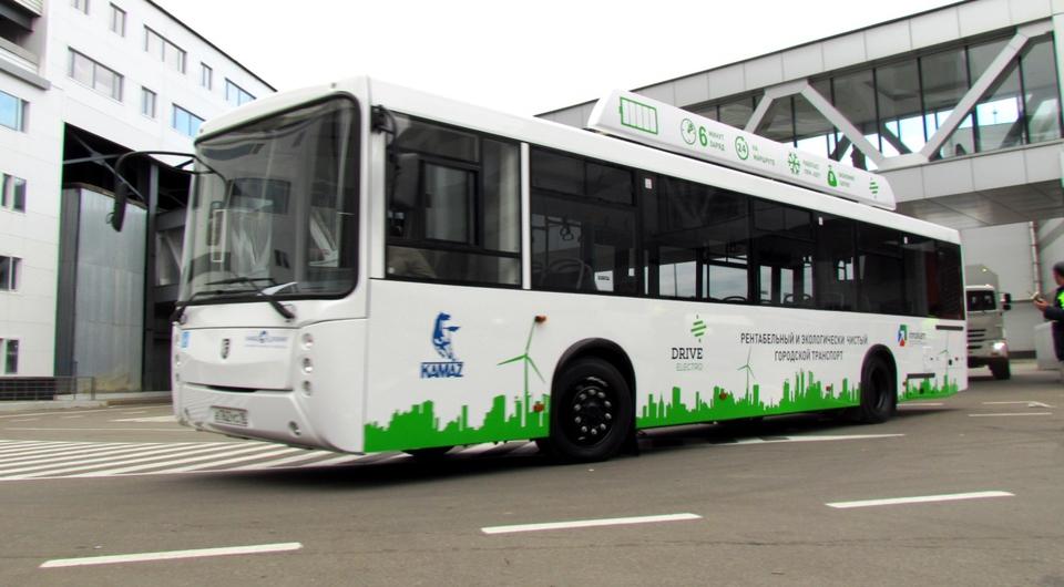 Электробусы КАМАЗ проверят реальной эксплуатацией