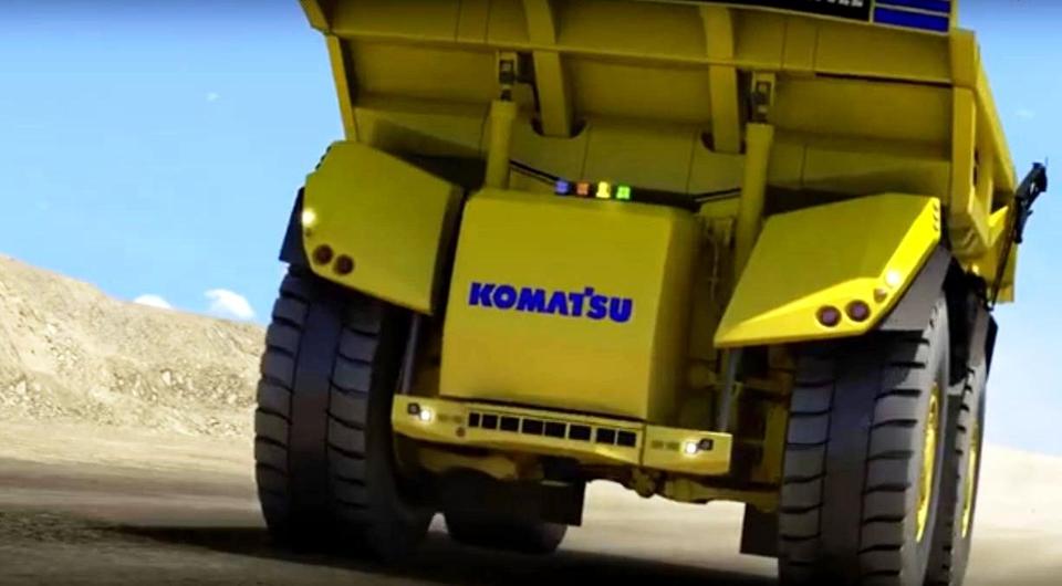 Komatsu: самосвал будущего - это самосвал-робот!