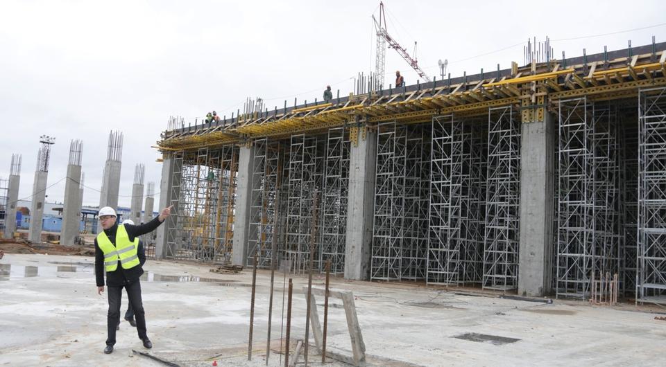 Строители взялись за второй этаж нового завода кабин КАМАЗа