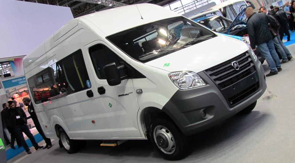 Микроавтобус «Газель NEXT» в битопливном варианте