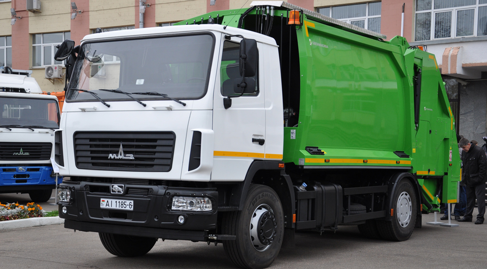 МАЗ собирается выпускать мусоровозы GeesinkNorba