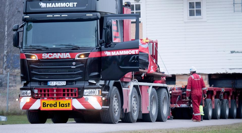 Scania перевезла целый городской район!