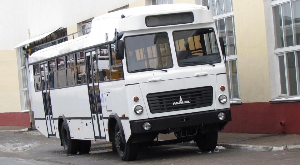 Автобусы МАЗ углубляются в Африку