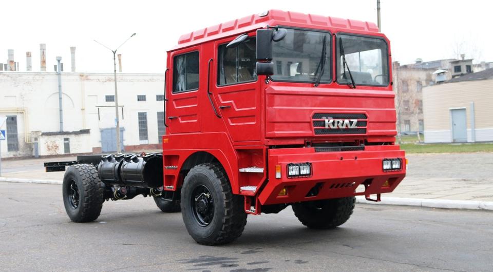КРАЗ построил специальное пожарное шасси
