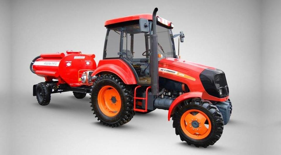Тракторы «АГРОМАШ» защитят леса от огня
