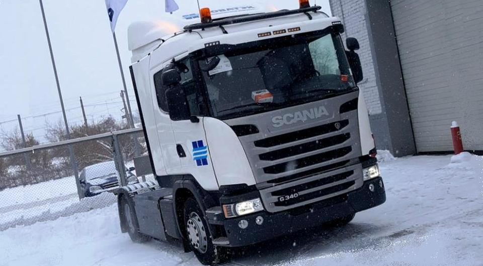 Метановая Scania будет работать на доставке газа