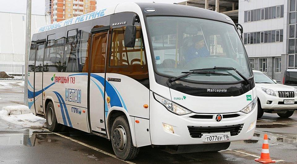КАМАЗ газифицирует общественный транспорт Крыма