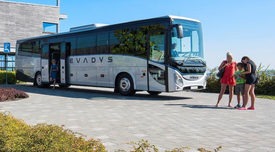 Iveco Evadys: новинка в туристическом классе