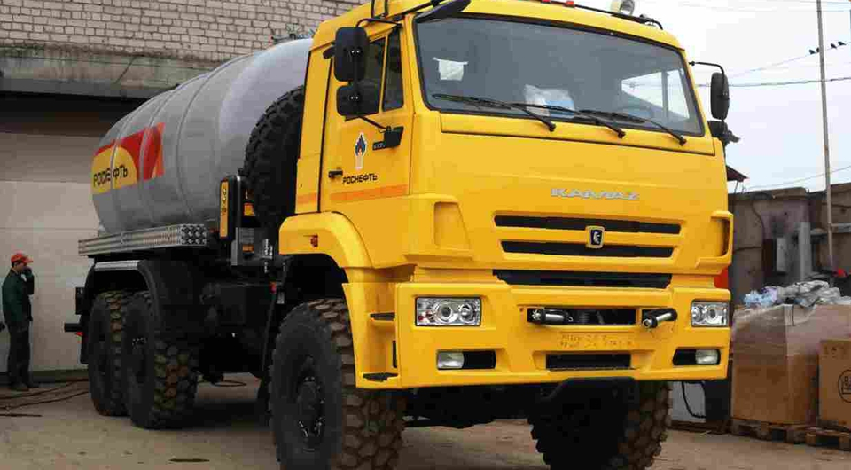 КАМАЗ: цементовозы для «Роснефти»